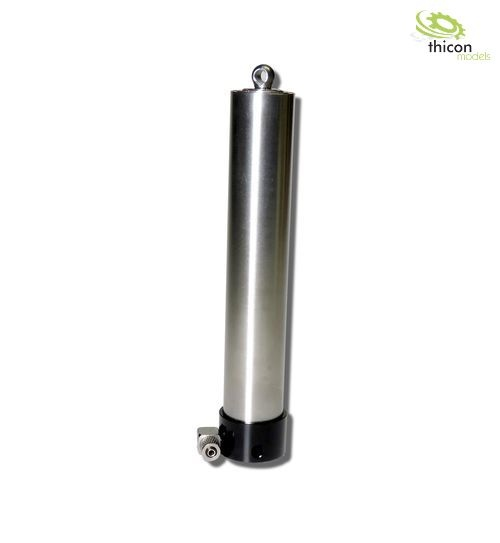 Hydraulic telescopic cylinder 110-395mm stainless steel
