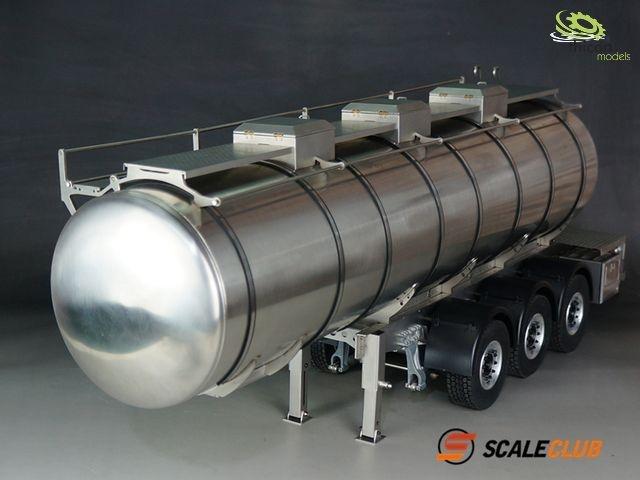 1:14 tank trailer V2A 3-axle ScaleClub