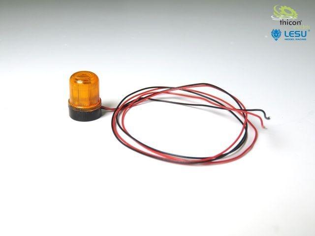 Orange rotating beacon 1 piece