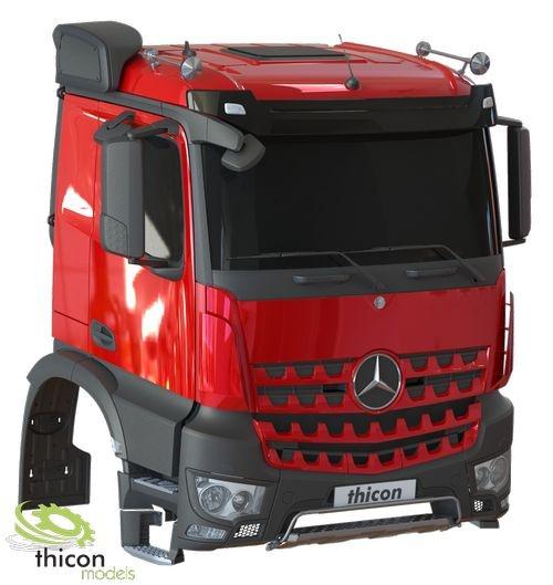 1:14 Mercedes-Benz Arocs-M Fahrerhausbausatz unlackiert