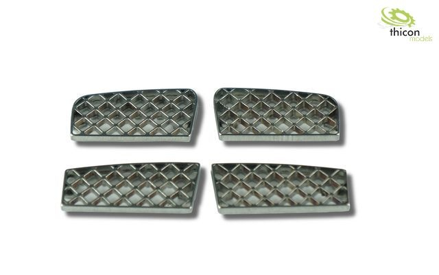 1:14 Entry grille for SCANIA truck made of V2A