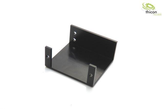 Servohalter Diffsperre Alu schwarz für 8x4