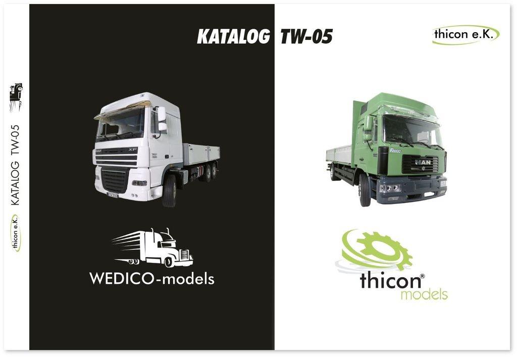 Katalog TW-05 thicon-models/WEDICO-models DE