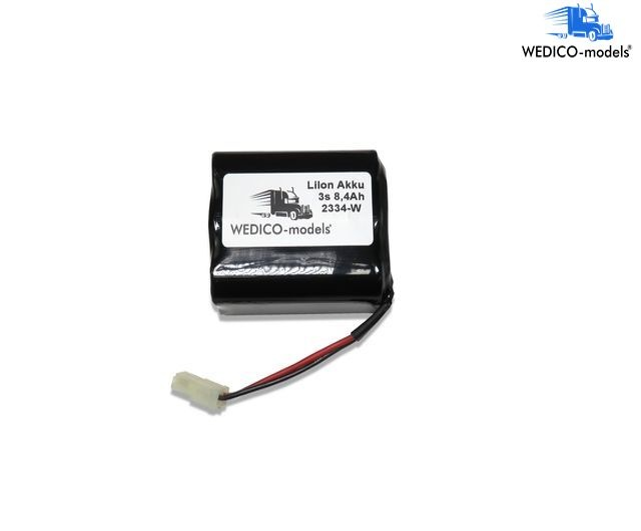 Drive battery V2 11.1V 9,8Ah LiIon, AMP and protection el.