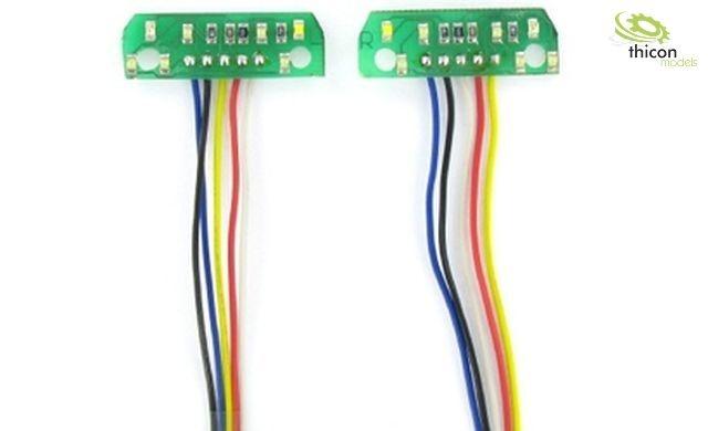 1:14 7,2V 7-Kammer LED-Platine