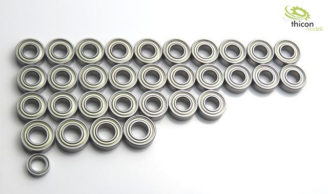 Ball bearing set for TAMIYA 3-Achs MAN / Arocs / Scania / Ac