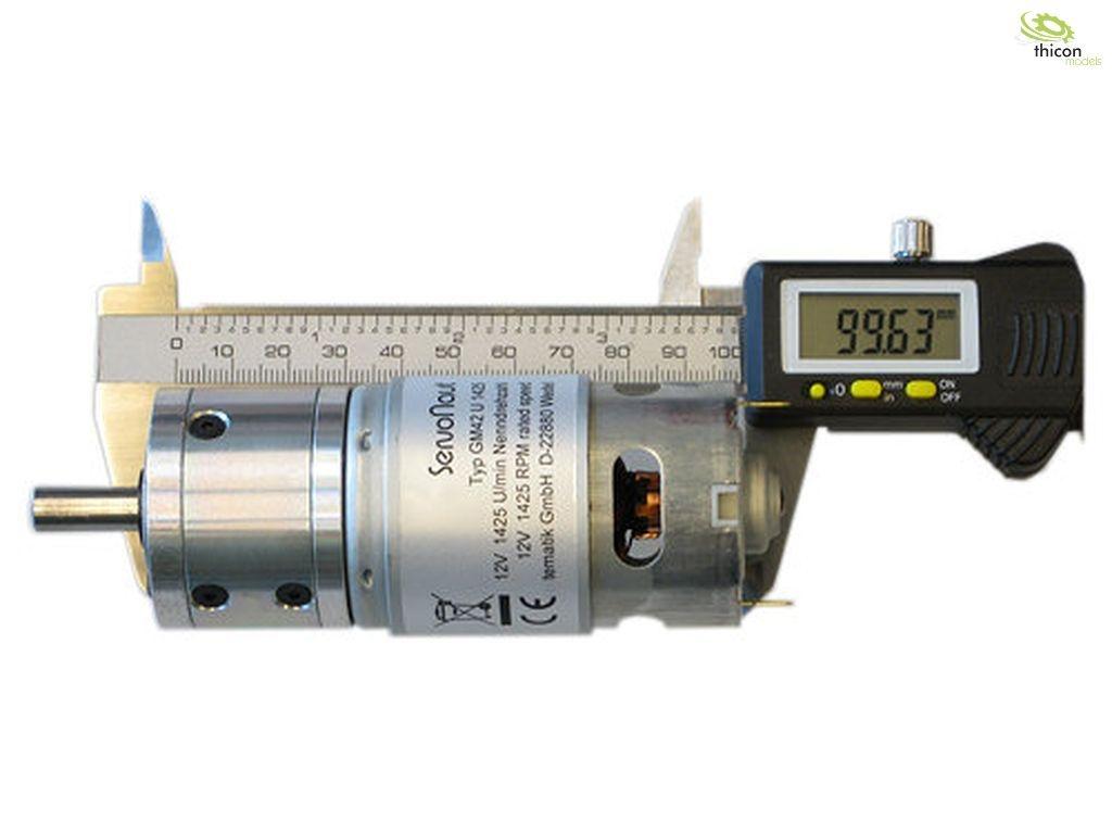 GM42U325 Planetengetriebemotor 12 V 325U/min