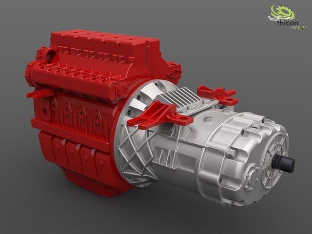 1:14 CVT-Automatik-Getriebe für LKW