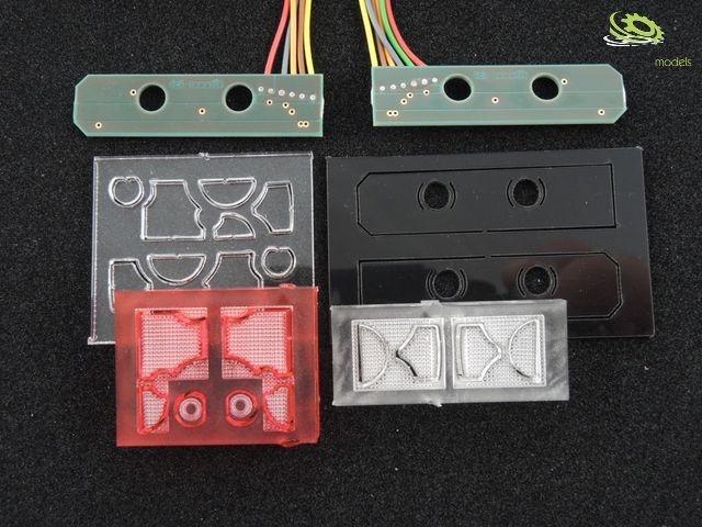 LH6TGX MAN Rücklichtplatine für 7,2V bis 12V