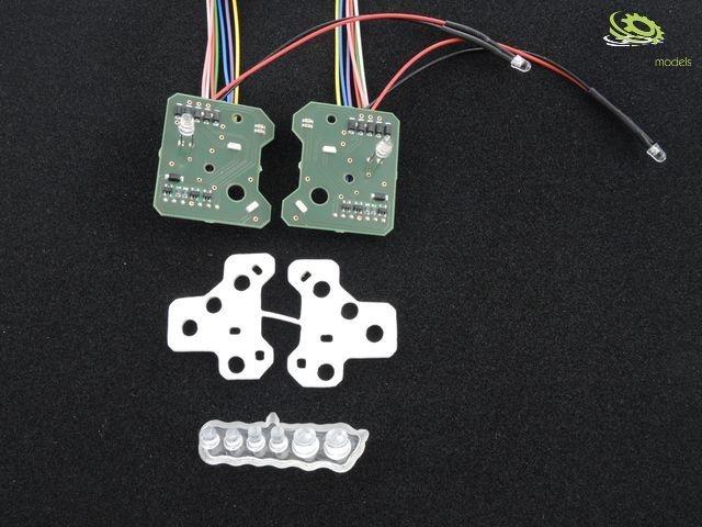 LV7AR Arocs Scheinwerferplatine für 7,2V bis 12V