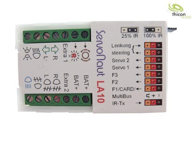 LA10 Lichtanlage mit 10Schaltausgängen