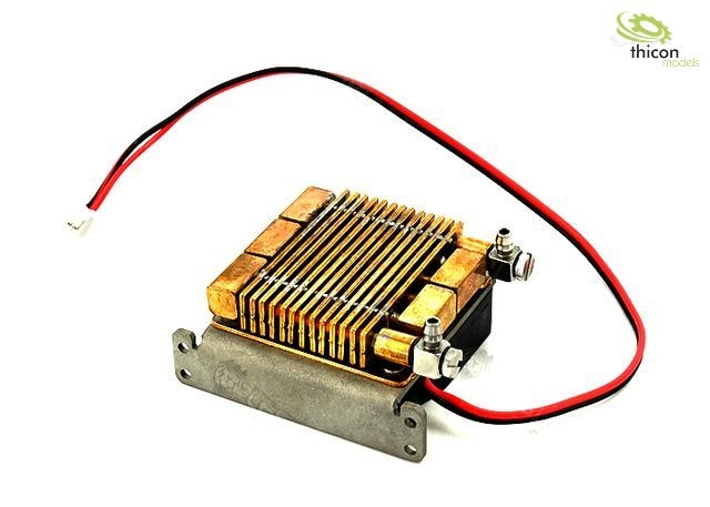 Hydraulic oil cooler small with fan