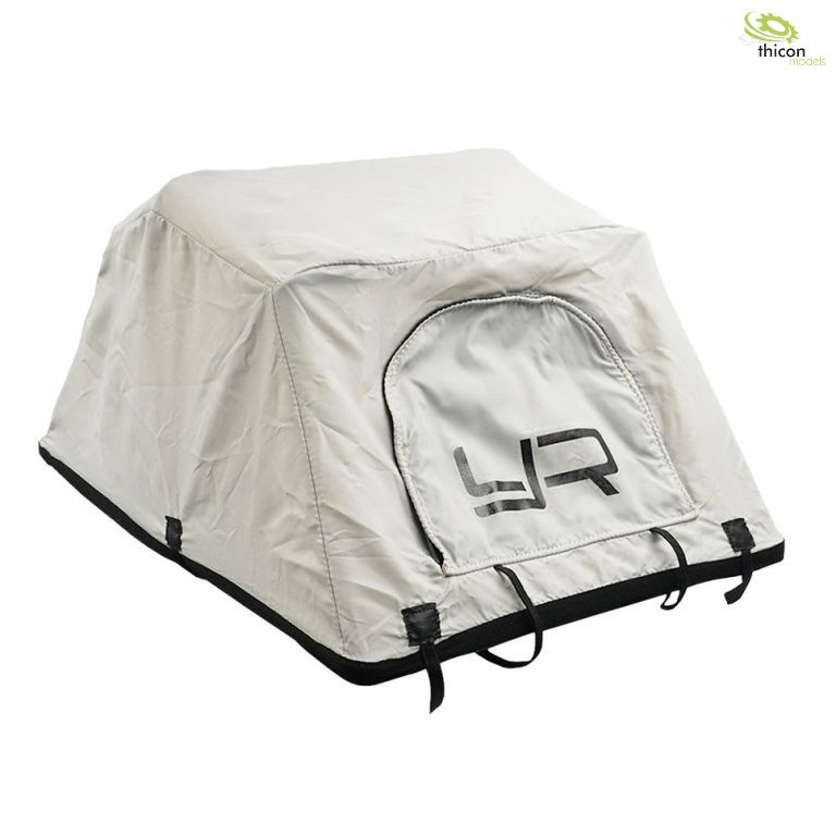 1:10 roof tent with roof rack and ladder