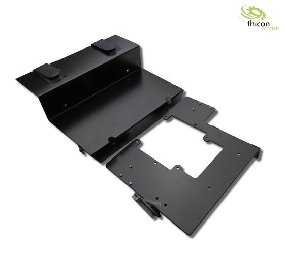1:14 Floor plate with servo and battery holder for Scania