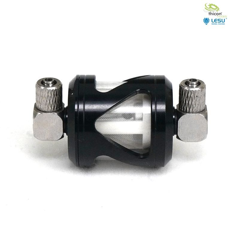 Oil filters for hydraulic systems