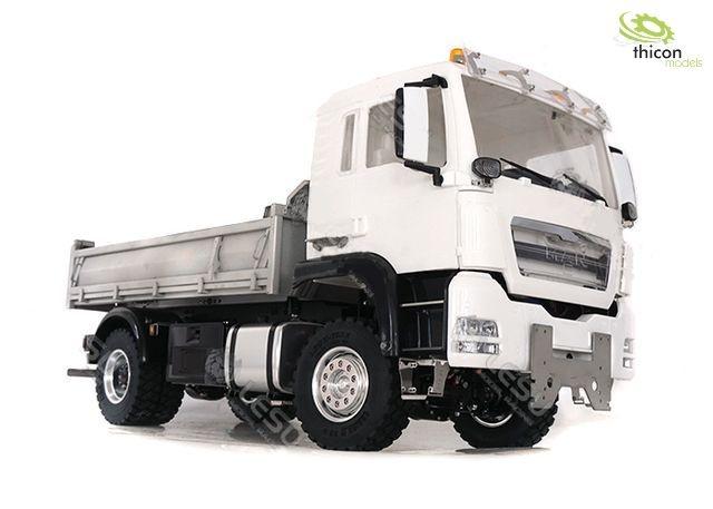 1:14 4x4 rear tipper MAN TGS with hydraulics