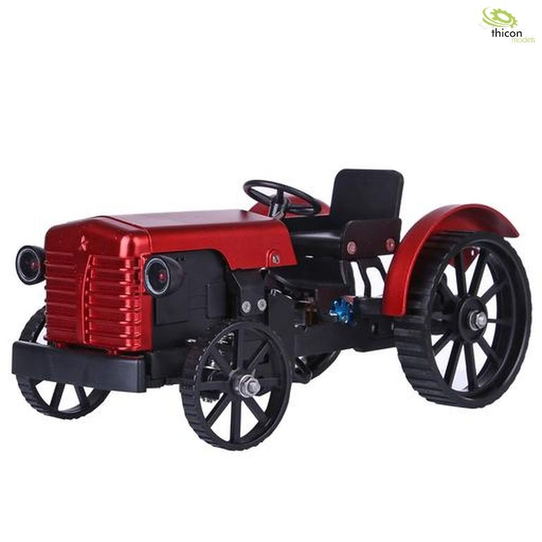 Metal tractor with electric motor and bluetooth control