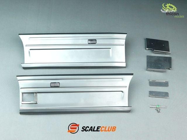 1:14 Seitenverkleidung für Scania 2-Achs Alu abnehmbar