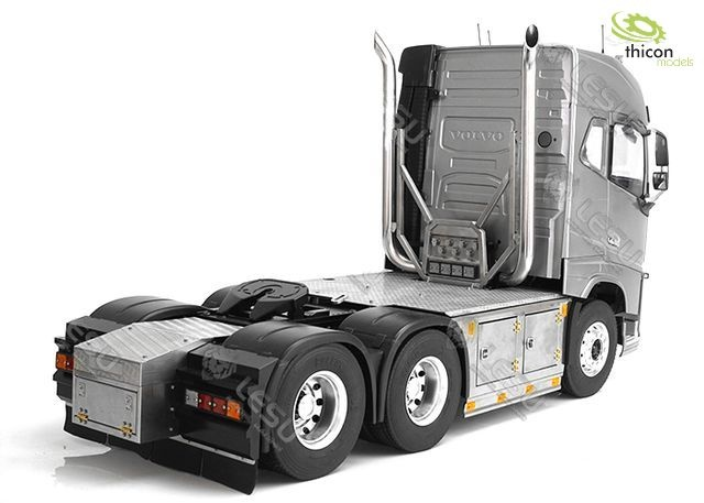 1:14 6x6 chassis for VOLVO with exhaust system