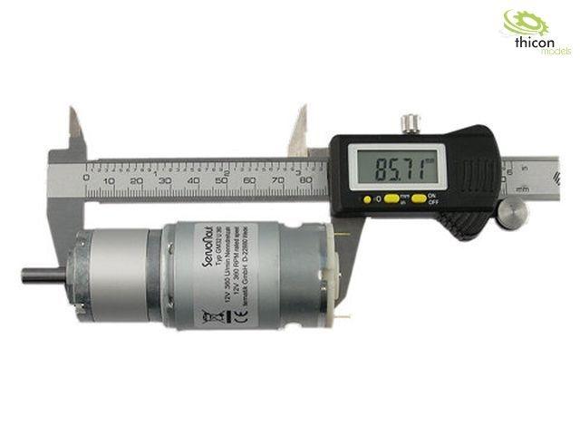 GM32U360 Planetengetriebemotor 12 V 360U/min
