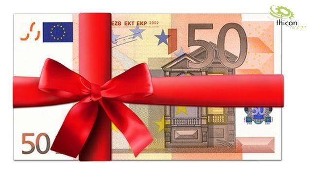 thicon Gutschein im Wert von 50,- EUR