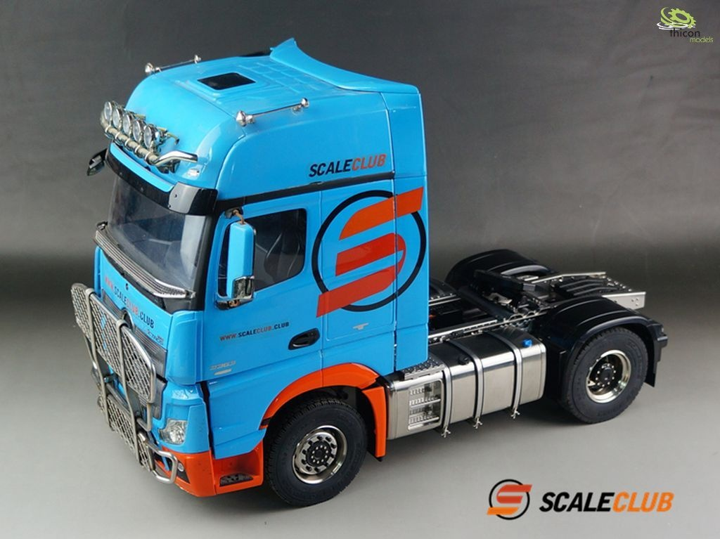 1:14 4x4 chassis for Mercedes Actros