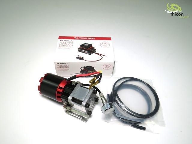 Hydraulic high-performance pump 11,1V max. 30bar