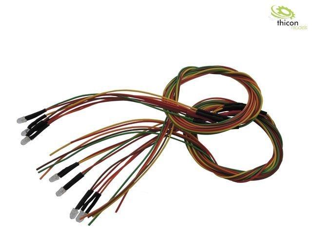 L3H LED-Kabelbaumset 7V hinten