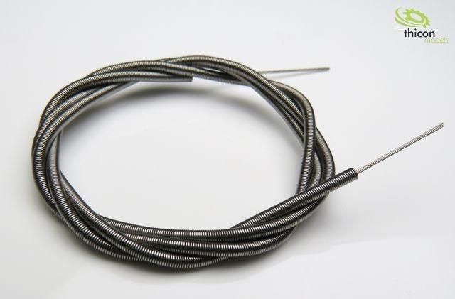 1:14 / 1:16 Stahlseil mit Mantel 100cm lang für Diffsperre