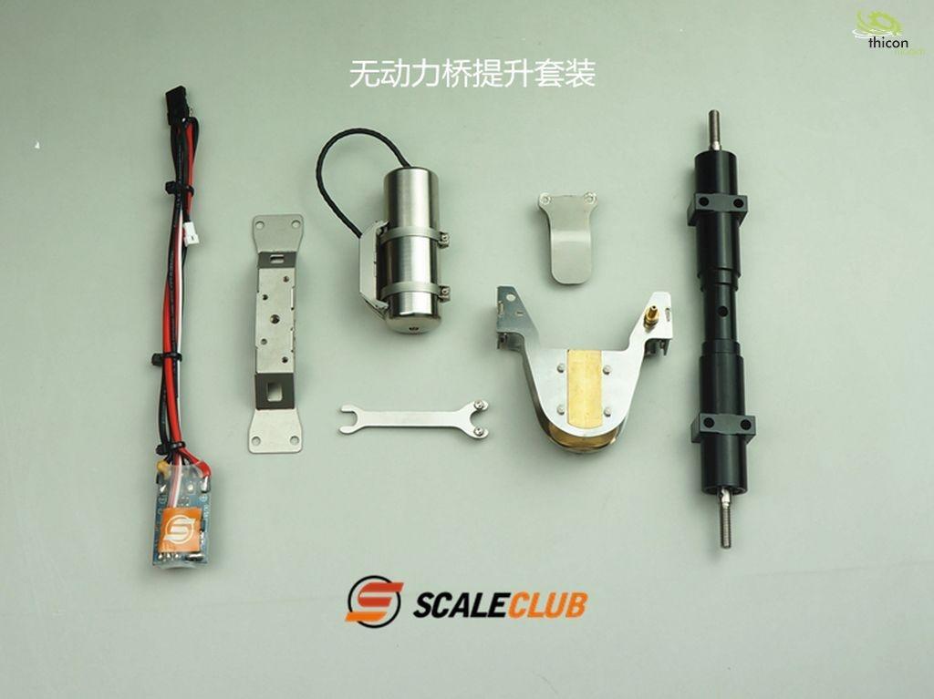 1:14 hydraulic lift axle for non-driven axle