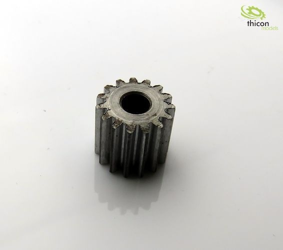 Aufpressritzel Stahl 15 Zähne