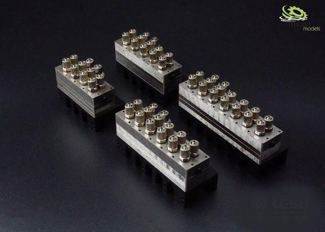 Hydraulic control valve 5-way