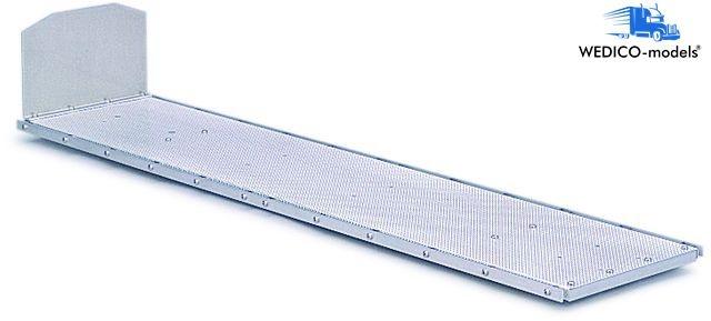 Flatbed body for semi-trailer 742mm
