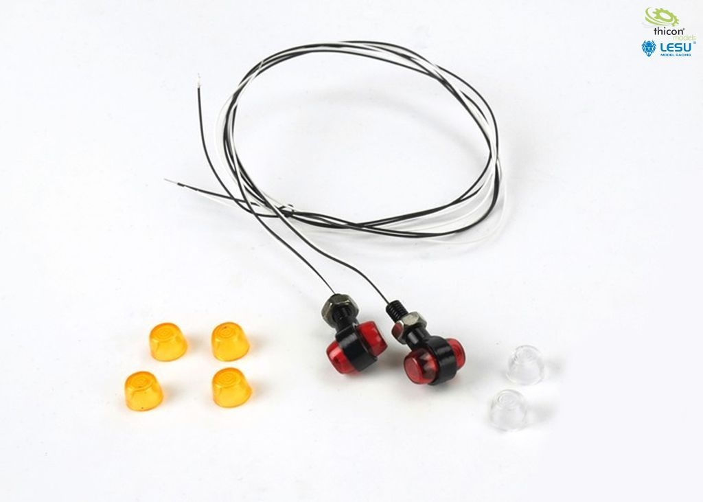 1:14 side marker lights with LED 2 pieces