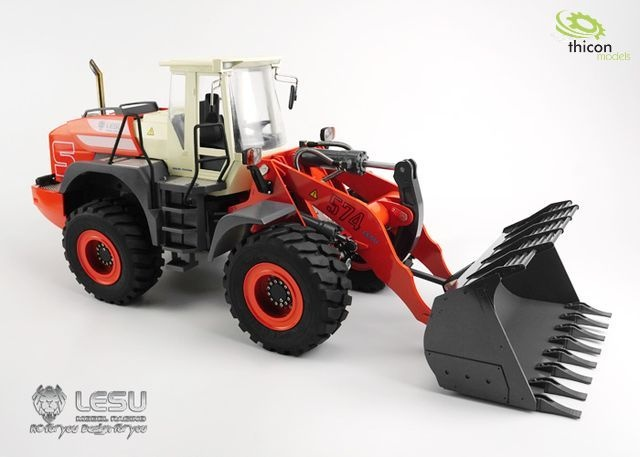 1:15 Wheel loader kit ARTR with hydraulics
