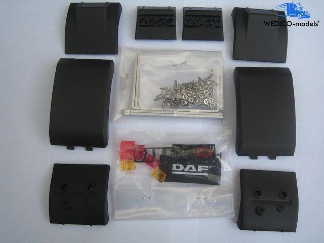 DAF Fender single rear axle