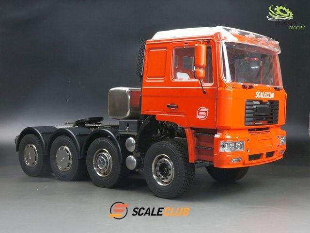 1:14 8x2 MAN F2000 metal heavy duty