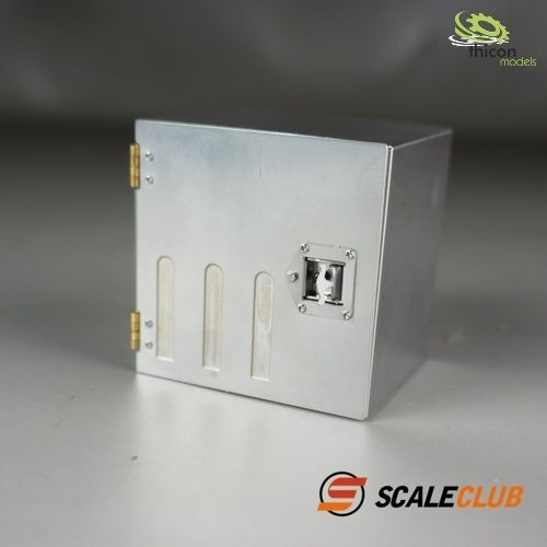 1:14 Werkzeugbox 52mm aus Edelstahl