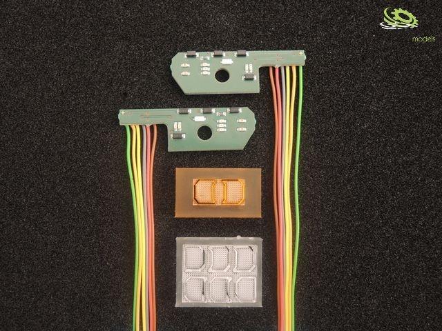 LH6MB3348 Arocs 3348 Rücklichtplatine für 7,2V-12V