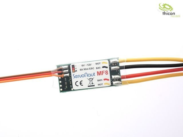 MF8 Mini-Fahrtregler 8A/4kHz fürStellantriebe