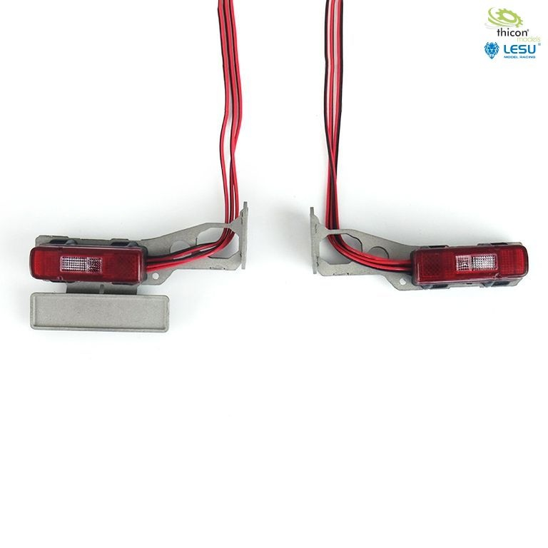 1:14 taillights for VOLVO with LED and holder v1