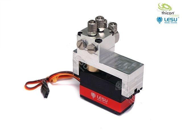 Hydraulic control valve aluminum 1-way with servo