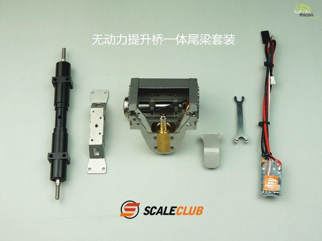 1:14 hydraulic lift axle SCANIA for non-driven axle