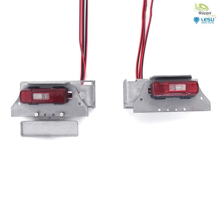 1:14 taillights for VOLVO with LED and holder v2