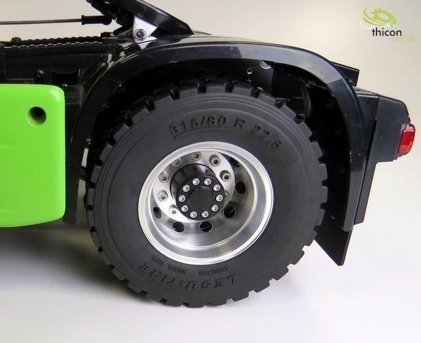 1:14 Alufelgen hinten Euro-Optik für Antriebsachse Paar