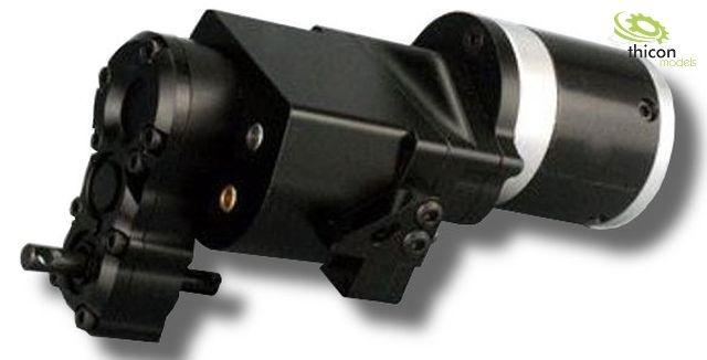 1:14 2-Gang-Allradgetriebe Metall 5:1 für 540er Motor